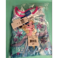 Disney Frozen Elsa Fleece Pajamas Pants Top Set 2T Gift Sleepwear PJs Winter New