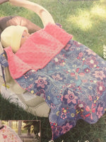 Kwik Sew Pattern 3923 Infant Baby Cozy Carrier Cover Warm Blanket Crafts Uncut