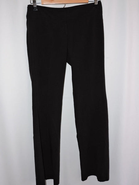Arden B Black Career Pants Size 0 Slacks Work Dress Flare Style