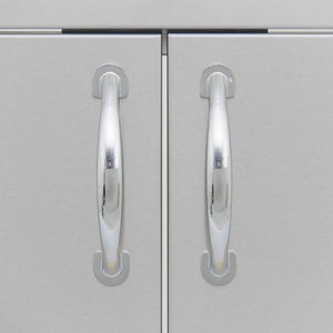 Blaze 25 Inch Double Access Door SKU BLZ-AD25-R - Handles