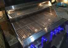 Bonfire 34-Inch 4 Burner Built In Gas Grill W/Rotisserie Kit - M&K Grills