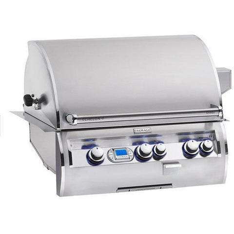 Echelon 48-Inch Built-In Grill With Digital Thermometer E1060i-4L1N - M&K Grills