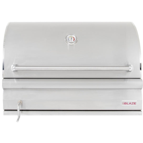 "Blaze 32"" Charcoal Grill BLZ-4-CHAR Built-in - Front View"