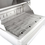 Blaze 32-Inch Stainless Steel Charcoal Grill - Stainless Steel Cooking Grates