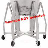 Blaze Kamado Cart SKU BLZ-20KMDO-CART - closeup