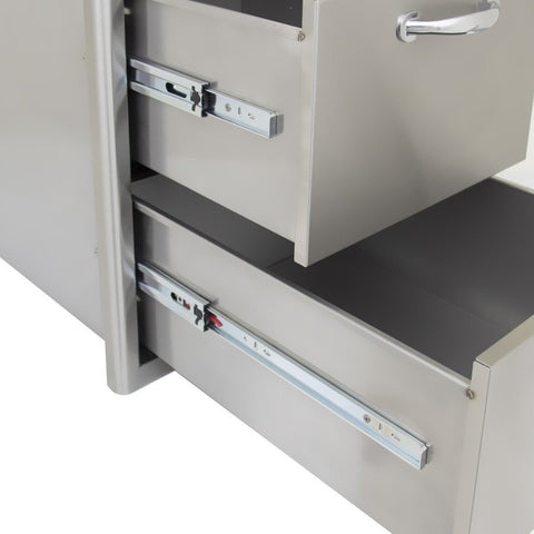 Blaze 16-Inch Double Access Drawer SKU BLZ-DRW2-R - M&K Grills