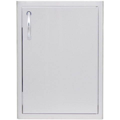 Blaze 21 Inch Single Access Vertical Door BLZ-single 2417-R - M&K Grills