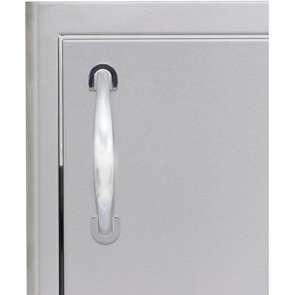 Blaze 24 inch Horizontal Single access door BLZ-SH-2014-R - Handle
