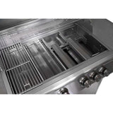 Blaze 32 inch 3 Burner W/Rear Burner SKU BLZ-4 Built-In Grill - Flame Tamer & burner