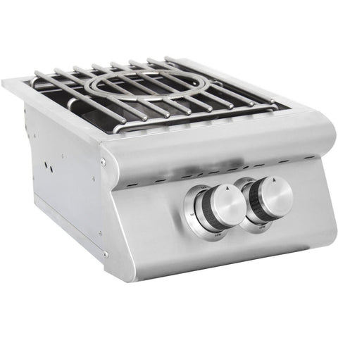 Blaze High Performance Power Burner SKU BLZ-PB Built-In Burner - M&K Grills