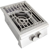 Blaze Built-In High Performance Power Burner SKU BLZ-PB - Top View