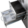Image of Blaze Cart for Gas Griddle SKU BLZ-GRIDDLE-CART - M&K Grills