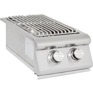 Blaze Double Side Burner SKU BLZ-SB2 Built-In Burner - M&K Grills