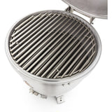 Blaze 20-Inch Cast Aluminum Kamado Grill - Stainless Steel Cooking Grate