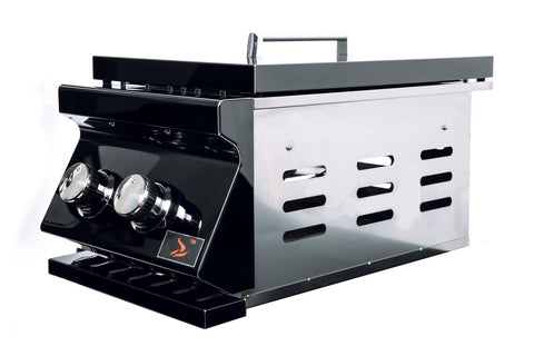 Bonfire-Black-Stainless-Steel-built-in-double-side-burner-for-bonfire-outdoor-kitchen-Black-Series-CBADSB-B