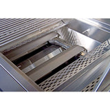 Bonfire 28 Inch 3 Burner 867072000280 with Rotisserie Kit on cart - Burners