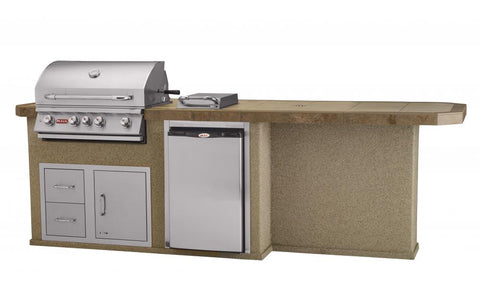 Bull Culinary Q Outdoor Kitchen Stucco - 31045