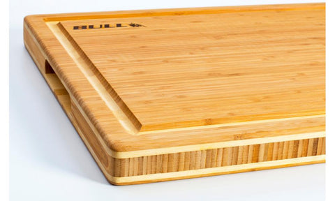 "Bull Outdoor Grill Accessories 22"" Bamboo Chopping Block - 52565"