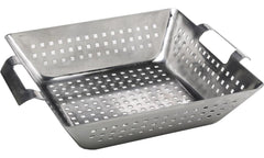 Bull Outdoor Grill Accessories Stainless Steel Square Wok - 24108