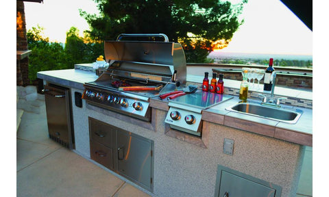 Bull Outdoor Kitchen Large Stainless Steel Sink - 12391