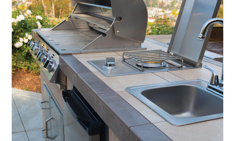 Bull Outdoor Kitchen Small Stainless Steel Sink - 12389