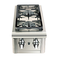 Capital Cooking Precision Series Double Side Burner - CG1238SB - CG2438SB