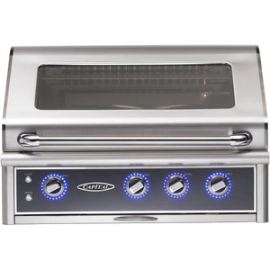 Capital Maestro Series 36 inch CGM36RBI Built-In BBQ Grill - M&K Grills