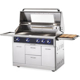 Maestro Series 48″ Freestanding Grill Side open