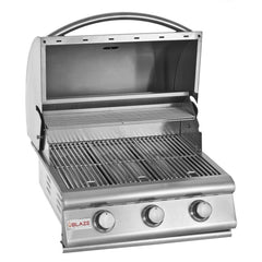 Blaze 25 Inch 3 Burner SKU BLZ-3 Built-In BBQ Grill