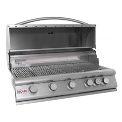 Blaze 40 Inch 5 Burner SKU BLZ-5 Built-In BBQ Grill