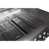 Blaze 40 Inch 5 Burner - Smoker Box