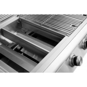 Blaze 25 Inch 3 Burner - Large Flavor Bars
