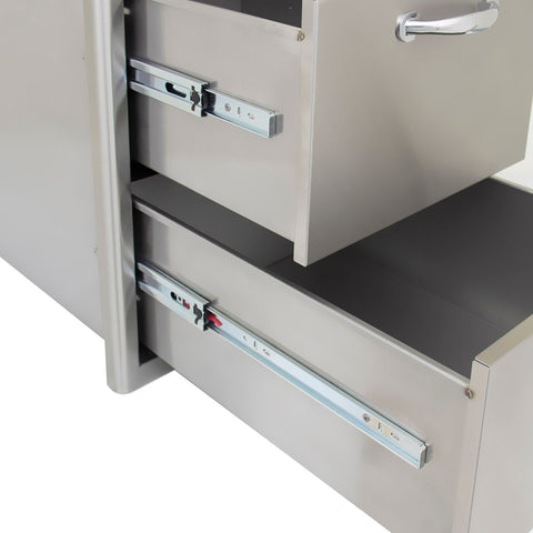 Heat 16-Inch Double Drawer HTX-DRWR-DOUBLE - M&K Grills