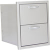 Image of Heat 16-Inch Double Drawer HTX-DRWR-DOUBLE - M&K Grills