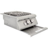 Image of Heat 16-Inch Power Burner w/ Lights HTS-PBL-LP Propane - M&K Grills