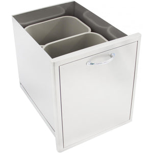 "Heat 18"" Trash Bin Drawer HTX-DRWR-TRASH - M&K Grills"