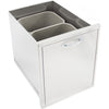 Image of Heat 18-Inch Trash Bin Drawer HTX-DRWR-TRASH - M&K Grills