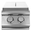 Image of Heat Double Side Burner w/ Lights HTS-SB2-NG Gas - M&K Grills