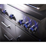 Bonefire 500 Prime built-in knobs