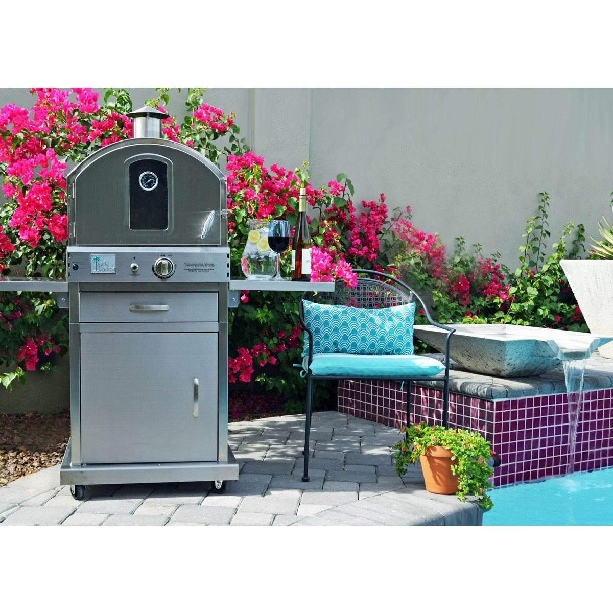 Pacific Living Outdoor Oven SKU PFL-PL8430SSBG070 | M&KGrills