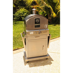 Pacific Living Outdoor pizza oven Oven W/cart