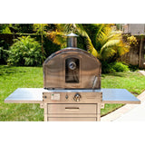 Pacific Living Outdoor Gas Oven front view