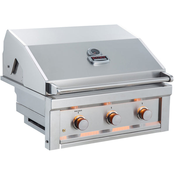 "Sunstone Ruby 3 Burner Prosear 30"" Ruby3B front"