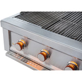 Sunstone 36 inch 4 Burner Ruby ProSear SKU Ruby4B Built-in Grill - M&K Grills
