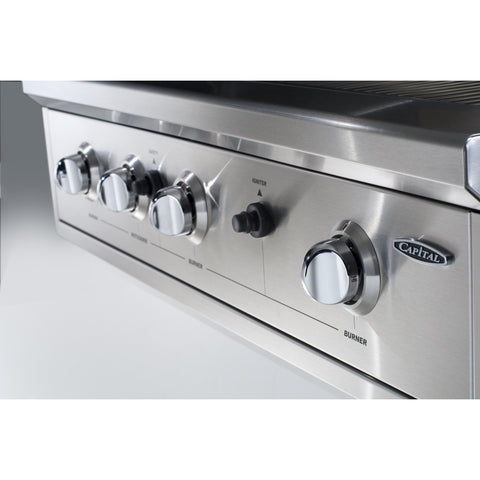 Capital Professional Series 26-Inch PRO26BI Built-In Grill - M&K Grills