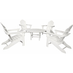 hanover-all-weather-5-piece-adirondack-chat-group-4-adirondack-chairs-1-38-inch-table-adchatset5pcwh