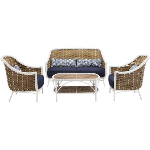 hanover-athens-4-piece-seating-set-sofa-2-chairs-tile-top-woven-coffee-table-ath-4pc-nvy