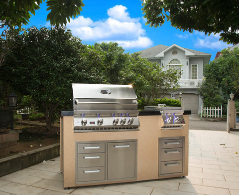 bonfire-4-burner-34-inch-built-in-grill-CBB4-Island-Set-LifeSytle