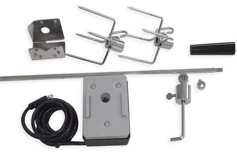 Bonfire Rotisserie Premium Heavy Duty Kit with Motor