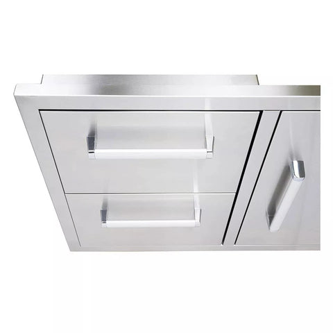 bonfire-stainless-steel-outdoor-kitchen-and-bbq-island-door-and-drawer-combo-CBADC-Closeup
